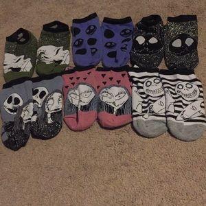 Authentic nightmare before Christmas socks
